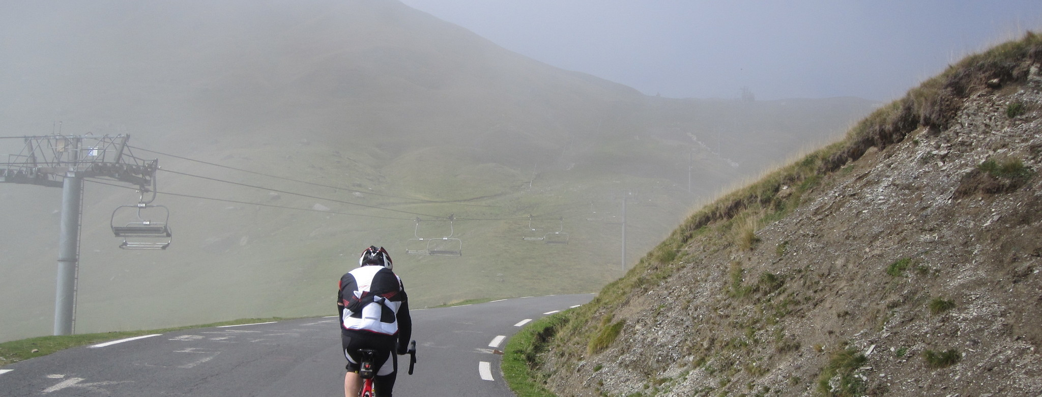 Nebelstimmung am Tourmalet.