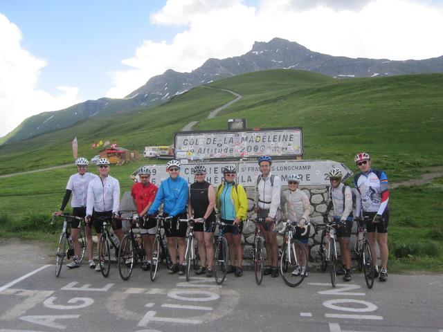 Rennrad-Rundreise durch die Savoyer Alpen 2015 - vom  25. Juli bis 1. August 2015