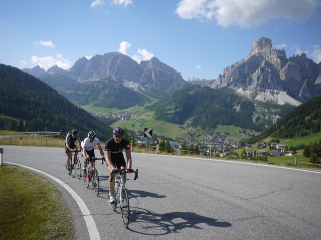 Dolomiten 2015 - Rennradreise mit quaeldich.de - vom  5. bis 12. September 2015