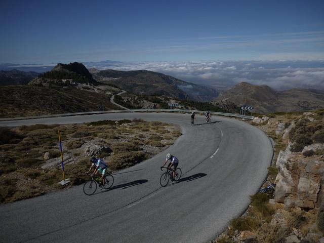 Sierra Nevada Umrundung 4.-14. Oktober 2014 - vom  4. bis 14. Oktober 2014
