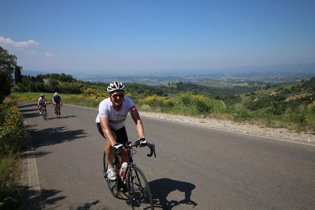 Trainingswoche in der Toskana (Colle di Val d'Elsa) - vom  6. bis 13. Mai 2017