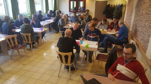 quäldich Team-Workshop in Erlangen - vom  8. bis 9. Februar 2020